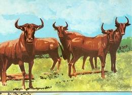 Mozambique ** & Postal Stationery, Animals From Mozambique, Gnu, Boi Cavalo, Connochaetes Taurinus (6801) - Altri