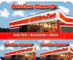AutoZone Rewards Customer Loyalty Card Set - All 3 Cards Still Attached - Other