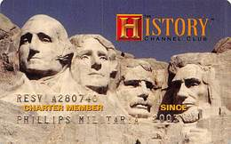 History Channel Club Charter Member Card - Other Collections