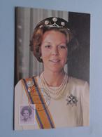 Koningin BEATRIX > N° 68 ( Nederland ) Anno 1982 Zegelkoerier ( Zie Foto's Voor Details ) ! - Familles Royales
