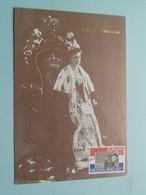 Koningin WILHELMINA 1880-1980 ( Nederland ) Anno 1980 Stamp Groningen ( Zie Foto's Voor Details ) ! - Familles Royales