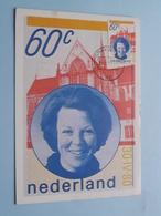 Inhuldiging H.M. Koningin BEATRIX ( Nederland ) Anno 1980 Stamp 's Gravenhage ( Zie Foto's Voor Details ) ! - Familles Royales