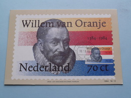 Herdenking STERFDAG PRINS WILLEM I Van ORANJE In 1584 ( Nederland ) 1980 Stamp Groningen ( Zie Foto's Voor Details ) ! - Familles Royales