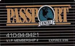 Passport Excel Hotel Loyalty Card - Other