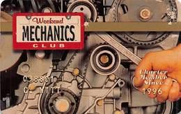 Weekend Mechanics Club Charter Membership Card - Thin Plastic - Other