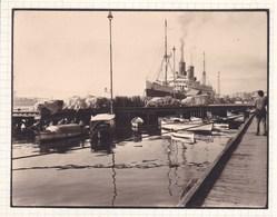 SANTANDER ESPAGNE Bateau L'Espagne Au Quai En 1929 Photo Amateur Format Environ 7,5 Cm X 5,5 Cm - Barcos