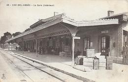 Algérie )  SIDI BEL ABBES  -  La Gare Intérieure - Sidi-bel-Abbès