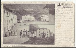 Un Saluto Da MOENA  - 1900 - Autres Villes