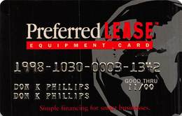 Preferred Lease Equipment Card - Other Collections