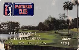 PGA Tour Partners Club Charter Member Card Copyright 1997 - Other