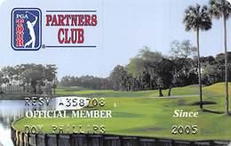 PGA Tour Partners Club Charter Member Card Copyright 2001 - Other