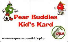 Pear Buddies Kid's Kard Official Member Card - Other
