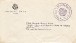 Costa Rica: Embajada De Costa Rica - Ministerio Relaciones Exteriores - Costa Rica