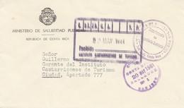 Costa Rica: 1961: Ministerio De Salubridad Publica To Ciudad - Costa Rica