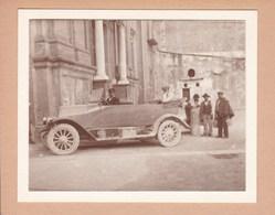 ROME 1920 Voiture  Photo Amateur Format Environ 7,5 Cm X 5,5 Cm Italie - Automobili