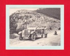 Col De Chiunzi 15 Août 1926 Voiture  Photo Amateur Format Environ 7,5 Cm X 5,5 Cm Italie - Automobili