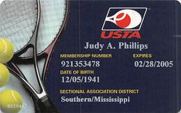 United States Tennis Association Membership Card - Other