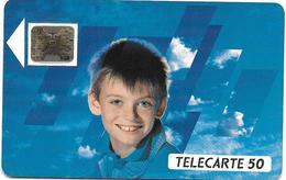 @+ Télécarte Visage Enfant - 50U - SC5an - 12/89. REF : F101A - France