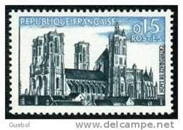 France Architecture N° 1235 **   Laon (Aisne) Sa Cathédrale - Eglises Et Cathédrales