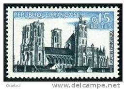 France Architecture N° 1235 **   Laon (Aisne) Sa Cathédrale - Kerken En Kathedralen