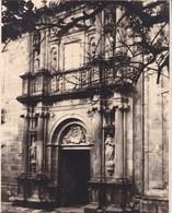 SANTIAGO De COMPOSTELLA Colegio De FONSECA ESPAGNE 1929  Photo Amateur Format Environ 7,5 X 5,5 Cm - Plaatsen