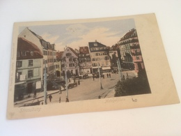 BY - 2500 -  STRASSBURG - Metzgerplatz - Strasbourg