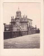 SANTIAGO De COMPOSTELLA  San Fructuoso ESPAGNE 1929  Photo Amateur Format Environ 7,5 X 5,5 Cm - Lugares