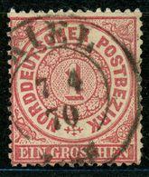 """""""KIEL"""" Nachverw. Schleswig Holstein K 2 Auf NDP Nr. 16 - Norddeutscher Postbezirk"""
