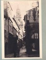 SANTIAGO De COMPOSTELLA   ESPAGNE 1929  Photo Amateur Format Environ 7,5 X 5,5 Cm - Plaatsen