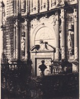 SANTIAGO De COMPOSTELLA  San Martin  ESPAGNE 1929  Photo Amateur Format Environ 7,5 X 5,5 Cm - Plaatsen