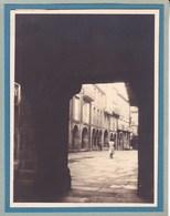 SANTIAGO De COMPOSTELLA  Rua Nueva  ESPAGNE 1929  Photo Amateur Format Environ 7,5 X 5,5 Cm - Lugares