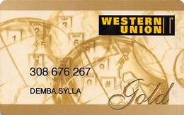 Western Union Gold Prepaid Phone Card - United States