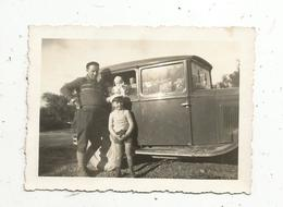 Photographie , Automobile ,90 X 70 Mm - Cars