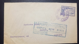 O) 1927 CIRCA - COSTA RICA, AIRPLANE SC C1 20c, TO GERMANY - Costa Rica