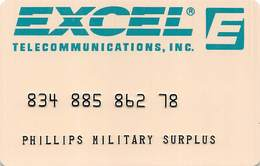 Excel Telecommunications Prepaid Phone Card - United States