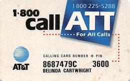 AT&T Calling Card - Vereinigte Staaten
