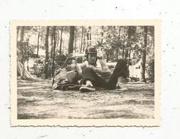 Photographie , Automobile,jeune Casqué, 90 X 60 Mm - Cars