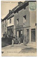 63 ROCHEFORT MONTAGNE CAFE BONY Un Joli Tacot CPA 2 SCANS - Autres Communes