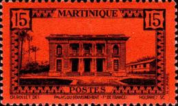 Martinique Poste N** Yv:192 Mi:193 Palais Du Gouvernement Ft De France - Martinique (1886-1947)