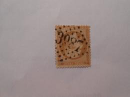 FRANCE YT21 NAPOLEON III 10c. Bistre Losange GC 3987 - 1862 Napoleon III