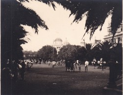 LA COROGNE ALAMEDA ESPAGNE 1929 Photo Amateur Format Environ 7,5 X 5,5 Cm - Lugares