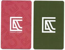 @+ Carte Cadeau - Gift Card : ALINEA Rouge + Carte Fidelité Verte - Gift And Loyalty Cards