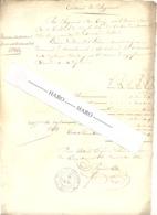 Dordogne - Tribunal De Mareuil - Jugement à L'encontre D'un Colporteur De La Roche Beaumont En 1830  (fr81) - Documentos Históricos