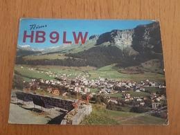 Switzerland Radio Amateur 1970 Mountains Nature - Radio Amatoriale