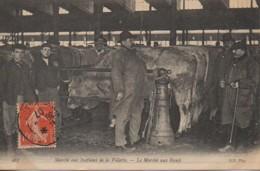 75  PARIS Marché Aux Bestiaux De La Villette  - Le Marché Aux Boeufs - France