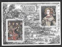 FRANCE Feuillet F 5236 Les Grandes Heures De L'histoire De France  Marie Thérèse D'Autriche , Traité Des Pyrénées . - Sheetlets