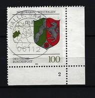 BUND - Mi-Nr. 1663 Formnummer 2 - Gestempelt - BRD