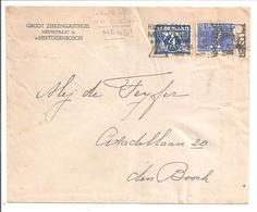 S'Hertogenbosch Lokale Envelop 9.11.46 Lebeau + V.Krimpen. 2 Emissies - Period 1891-1948 (Wilhelmina)