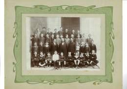 PHOTO 76 ROUEN CLASSE DE 5eme PENSIONNAT J. B. DE LA SALLE MAI 1909 - Rouen
