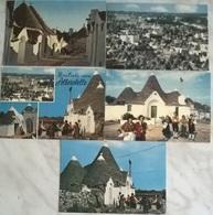 5 CART. ALBEROBELLO  (71) - Cartoline